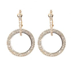 Strass Hoops Rose