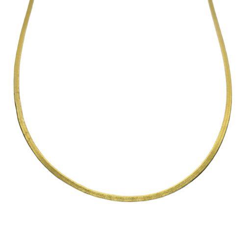 Goldplated Slangenketting